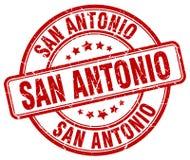 San Antonio stamp. San Antonio round grunge stamp isolated on white background. San Antonio stock illustration