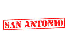 SAN ANTONIO. Rubber Stamp over a white background Stock Image