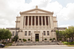San Antonio Scottish Rite Museum, Texas. SAN ANTONIO, USA - APR 11: San Antonio Scottish Rite Library and Museum building. April 11, 2016 in San Antonio, Texas Stock Photography