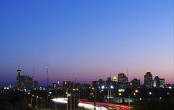 San Antonio-Sonnenuntergang Stockfoto