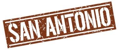 San Antonio stamp. San Antonio square grunge sign isolated on white. San Antonio royalty free illustration