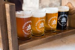 Southerleigh Brewing Company Beer Stock Image