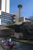 San Antonio, Texas Riverwalk royalty-vrije stock afbeelding