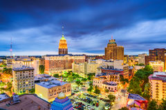 San Antonio, Texas, USA. Downtown city skyline royalty free stock images