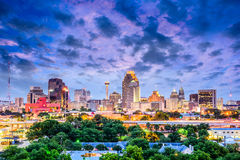 San Antonio, Texas, USA. Downtown city skyline royalty free stock image