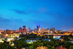 San Antonio, TX-cityscape royalty-vrije stock fotografie