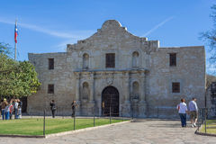 San Antonio, TX/USA - circa November 2015: The Alamo Mission in San Antonio,  Texas Royalty Free Stock Images