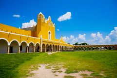 San Antonio von Padua-Kloster bei Izamal lizenzfreie stockfotos