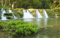 San Antonio Waterfall Belize Photo stock