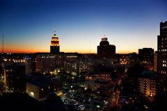 San- AntonioSkyline Stockbilder