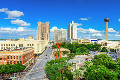 San- AntonioSkyline Stockbild