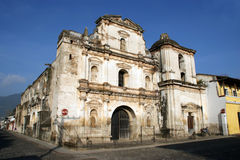 San Augustin church. Antigua, Guatemala Stock Photography