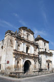 San Augustin church. Antigua, Guatemala Royalty Free Stock Photo