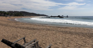 San Augustinillo beach Royalty Free Stock Photo