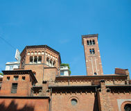 San Babila Church (1095), Milan, Italy Royalty Free Stock Images
