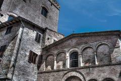 San Bartolo church in San Gimignano Royalty Free Stock Image