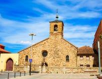 San Bartolome church Astorga Saint James Way Royalty Free Stock Photos
