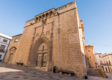 Church in Javea, Spain Royalty Free Stock Photos