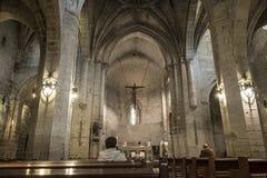 San Bartolome church in Logroño, Spain. Stock Image