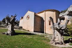 San Bartolome Hermitage, Soria (Spain) Royalty Free Stock Photography