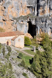 San Bartolome Hermitage, Soria (Spain) Stock Photography