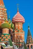 San Basil Cathedral a Mosca fotografia stock