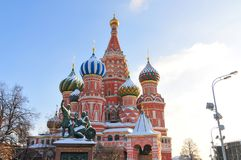 San Basil Cathedral - Mosca, Russia Immagine Stock