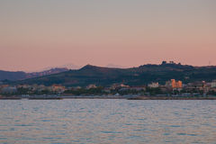 San Benedetto del Tronto in the marche region Royalty Free Stock Images