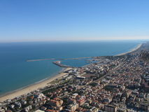 San Benedetto del Tronto's port royalty free stock photography