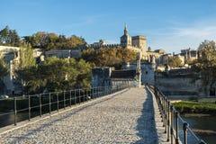 San-Benezet di Pont a Avignone Francia del sud fotografia stock libera da diritti