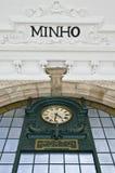 San Benito Train station at Porto, Portugal Royalty Free Stock Photos