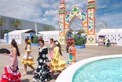San Bernabé feria Marbelle Hiszpania obraz stock