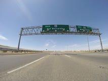 San Bernardino 15 autostrada Fotografia Stock