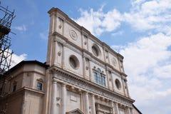 San Bernardino basilika l ` aquila abruzzo Italien Royaltyfria Bilder