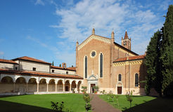 San Bernardino church in Verona Royalty Free Stock Photo