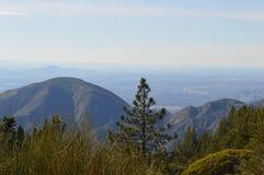 San Bernardino Mountain and Valley Royalty Free Stock Images