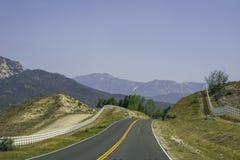 San Bernardino Mountains in Southern California stock photography