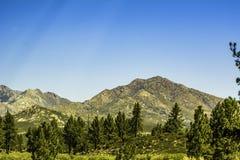 San Bernardino Mountains in Southern California stock photo