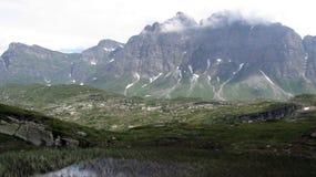 San Bernardino Pass 2.066 m hoher Gebirgspass Schweizer Alpen stockfoto