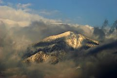 San bernardino peak Royalty Free Stock Photo