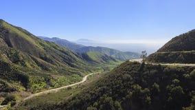 San Bernardino przy zmierzchu czasem obraz royalty free