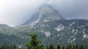 San Bernardino village. Southern Swiss Alps royalty free stock photos