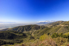 San Bernardino zur Sonnenuntergangzeit stockbilder