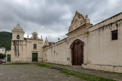San Bernardo Monastery - Salta, Argentina foto de stock