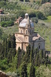 San Biagio bei Montepulciano Stockbilder