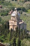 San Biagio chez Montepulciano Images stock