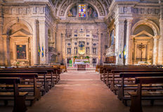 San Biagio church in Montepulciano, Italy Stock Photography