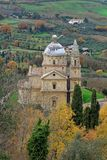 San Biagio Church Montepulciano Italy Stock Photo