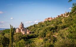 San Biagio church in Tuscany Stock Photos