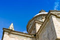 San Biagio est une église en dehors de Montepulciano, Toscane, le central I Photos stock